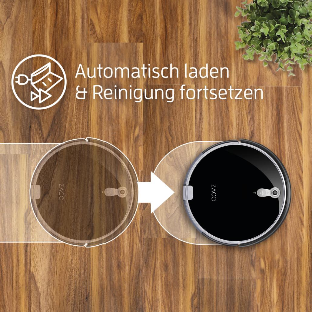 AutoResume automatisch Reinigung fortsetzen